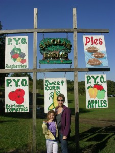 Post image for Apple Picking At Smolak Farms, North Andover