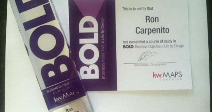 Ron Carpenito Graduates BOLD