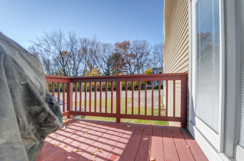 Deck at 52 Merrimack Meadows Tewksbury MA