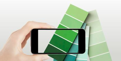 Picking the right paint colors easy tips ron carpenito for Paint color matching app