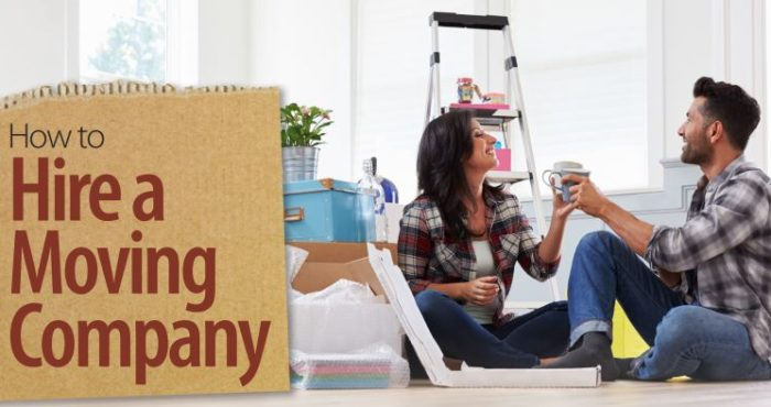 How to hire a moving company