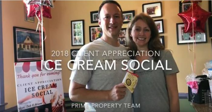 Client Appreciation Ice Cream Social 2018