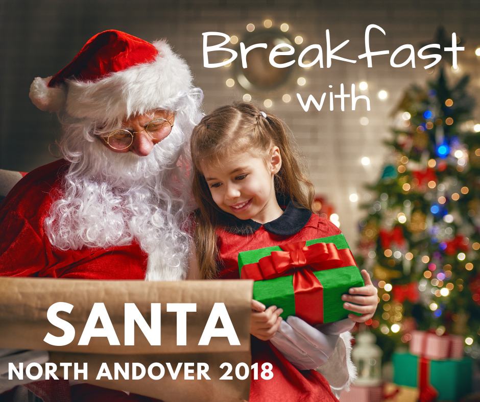 Breakfast with Santa North Andover 2018