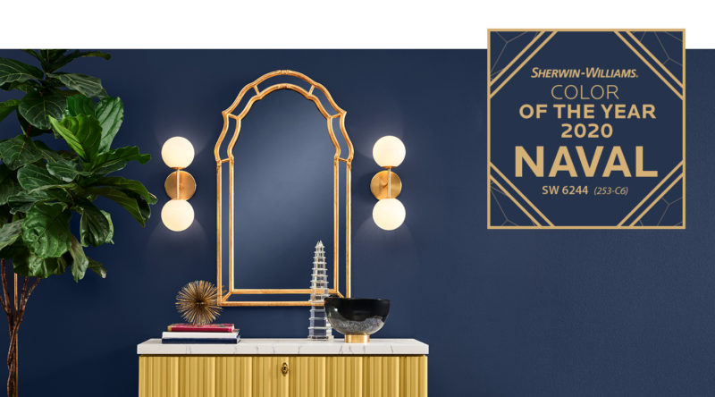 Sherwin Williams Naval Color of the Year